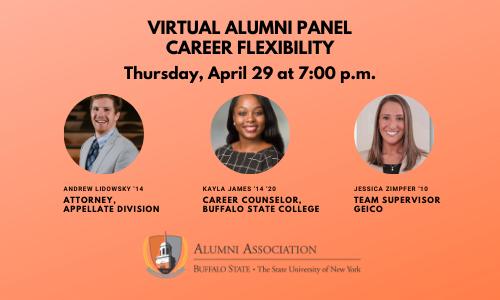 Virtual alumni panel email banner