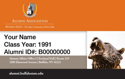Buffalo State Alumni ID Card